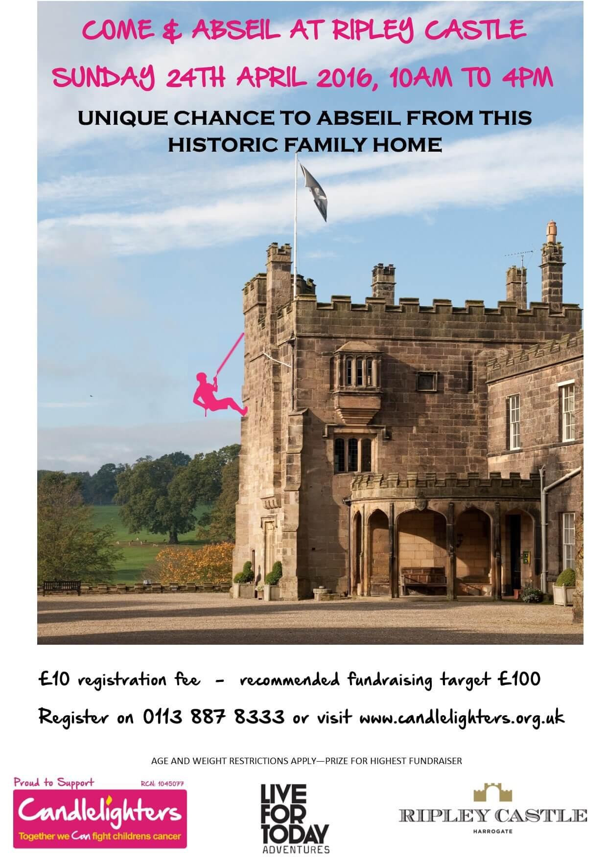 Ripley Castle Abseil
