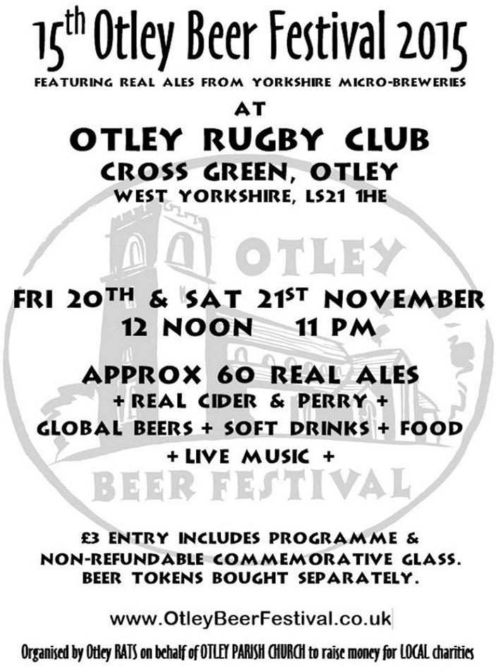 15th Otley Beer Festival