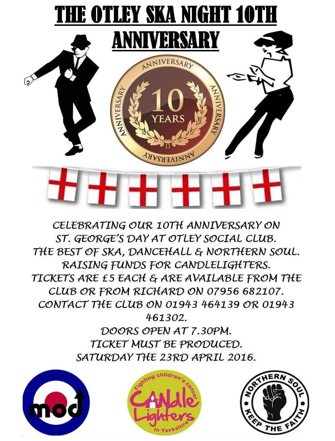 The Otley Ska Night 10th Anniversary