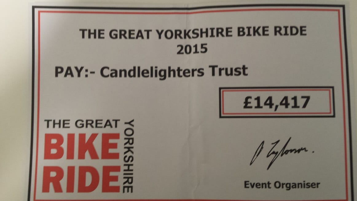 Great Yorkshire Bike Ride 2015 Wrap Party & Presentations – Saturday 31st October