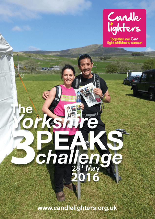 Candlelighters Yorkshire 3 Peaks 2016