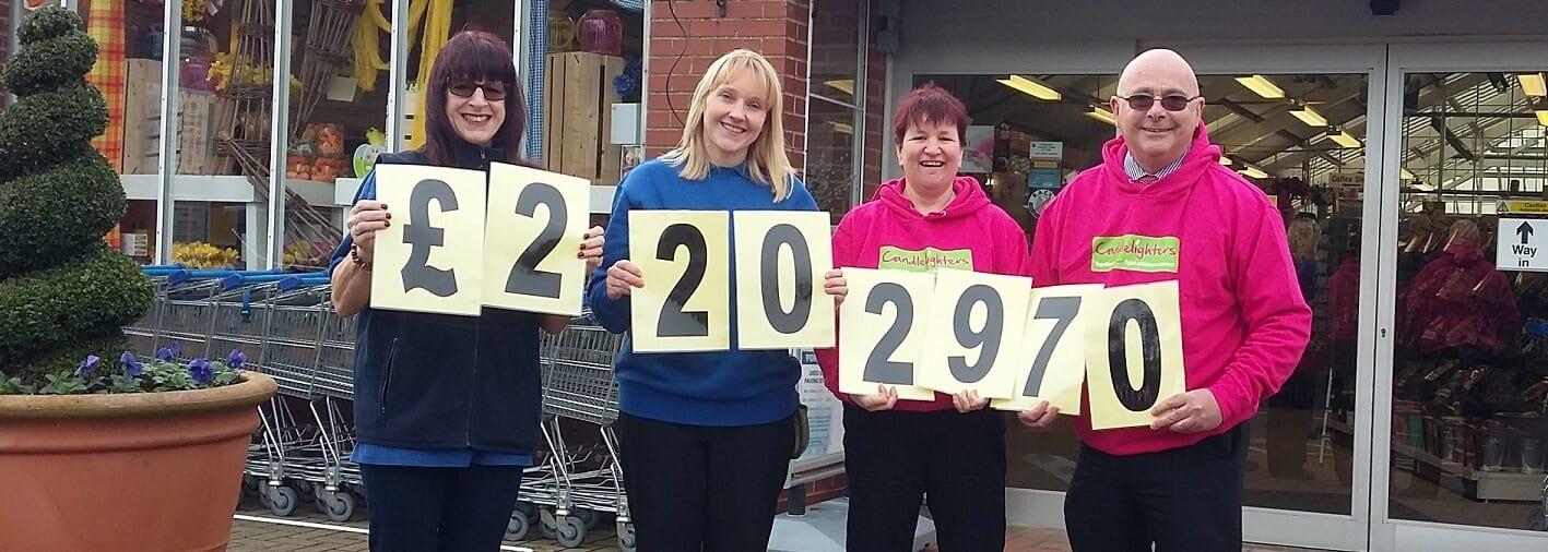 Dean's Garden Centre raise over £22k for charities