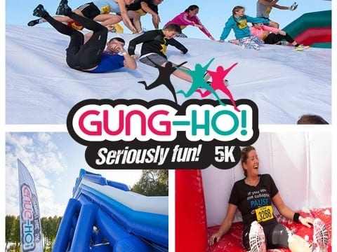 Some of the contestant will be taking on some serious fun at Gung Ho in May