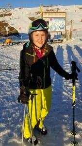 Martha Little Skiing 2