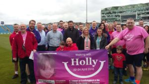 The Walking with Holly team walked, and walked, and walked...and walked!