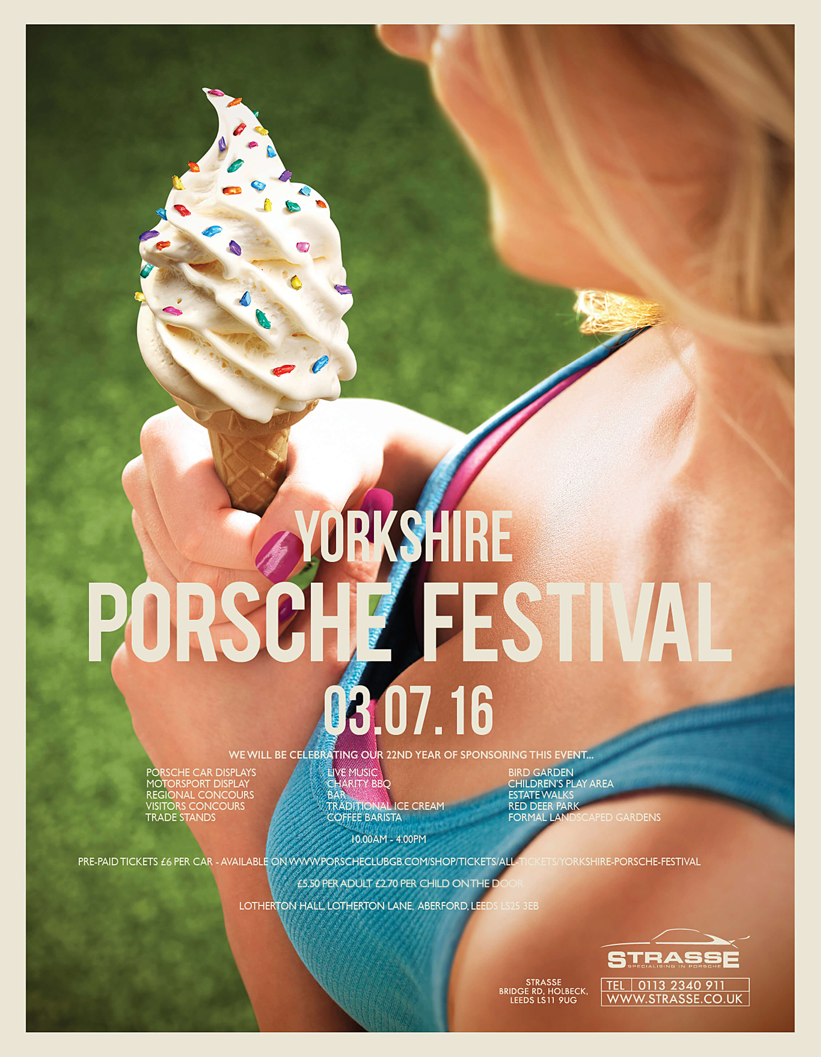 Yorkshire Porsche Festival 2016
