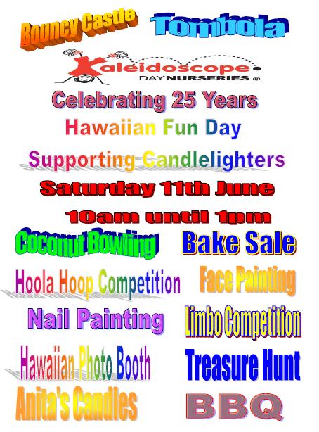 Fun Day Poster 2016