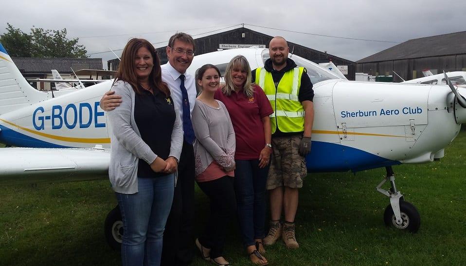 Huge success at Sherburn Aero Club Children's Day