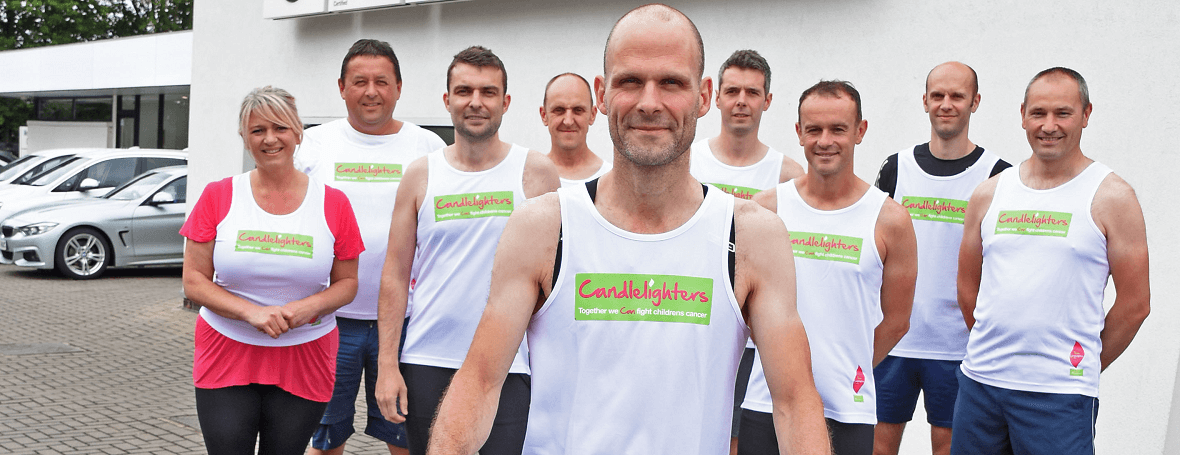 Team Guy runs the Great North Run and cycles 80 miles home in his loving memory