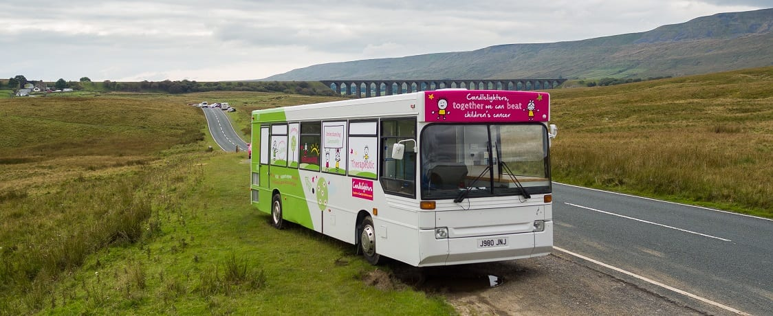 Candlelighters' support bus kicks off 2017 with weekly visits across Yorkshire