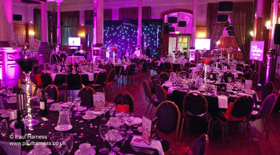 Harrogate Candlelighters break record with Casino Royale Ball