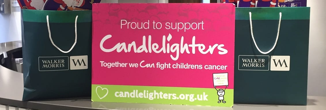 Walker Morris off to a flying start fundraising for Candlelighters