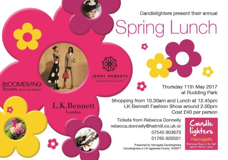 Harrogate Spring Lunch 2017