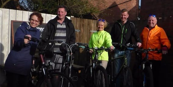'The Flemish Five' rack up the miles in support of Candlelighters