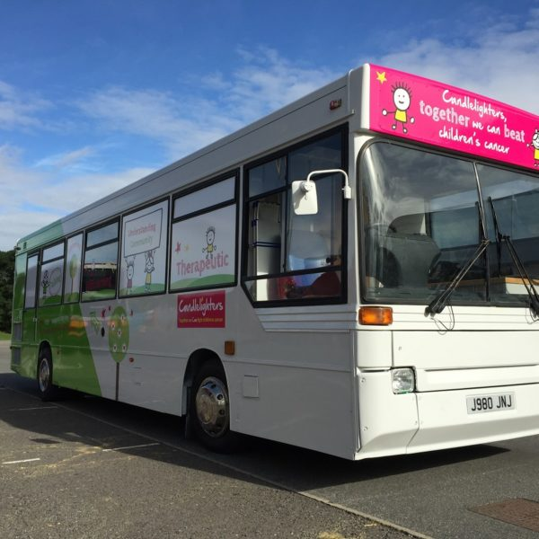 £300 Candlelighters bus out for the day across Yorkshire for easy access for families