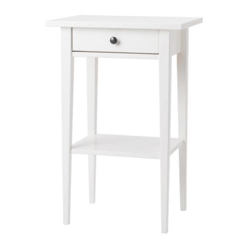 bedside table for coral pink room