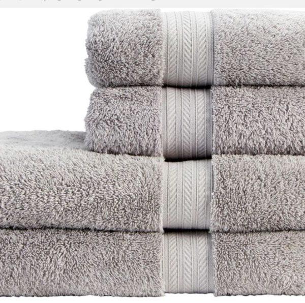 dove grey towels