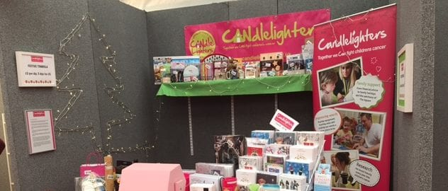 Harrogate Candlelighters take part in luxury Christmas Fair