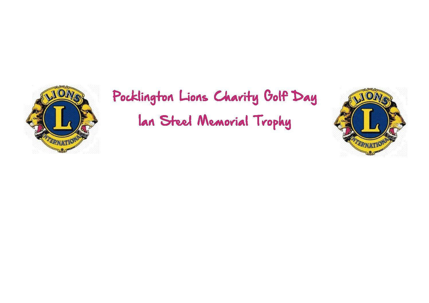 Pocklington Lions Charity Golf Day
