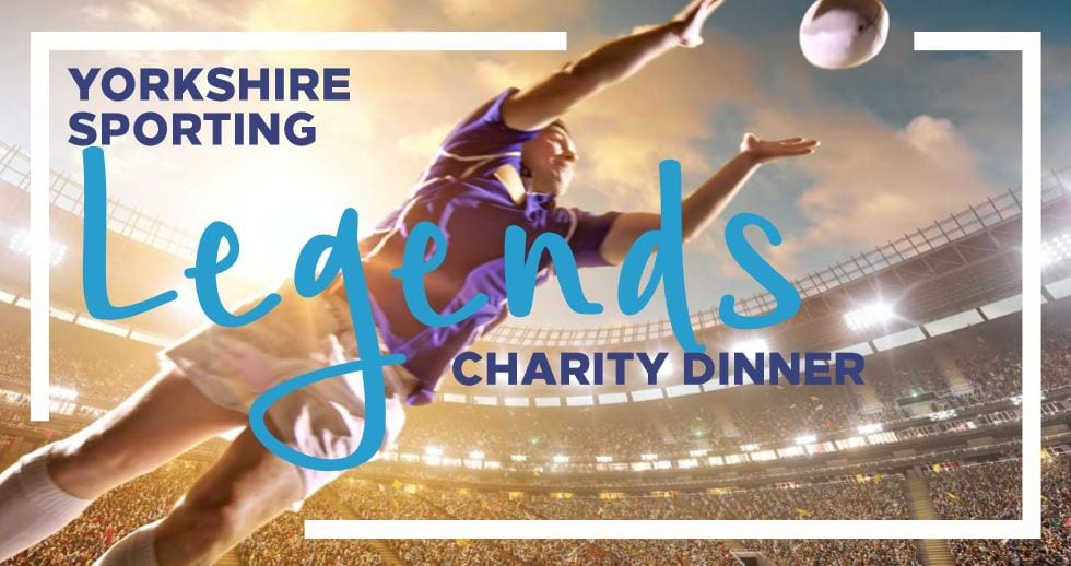 Yorkshire Sporting Legends Charity Dinner