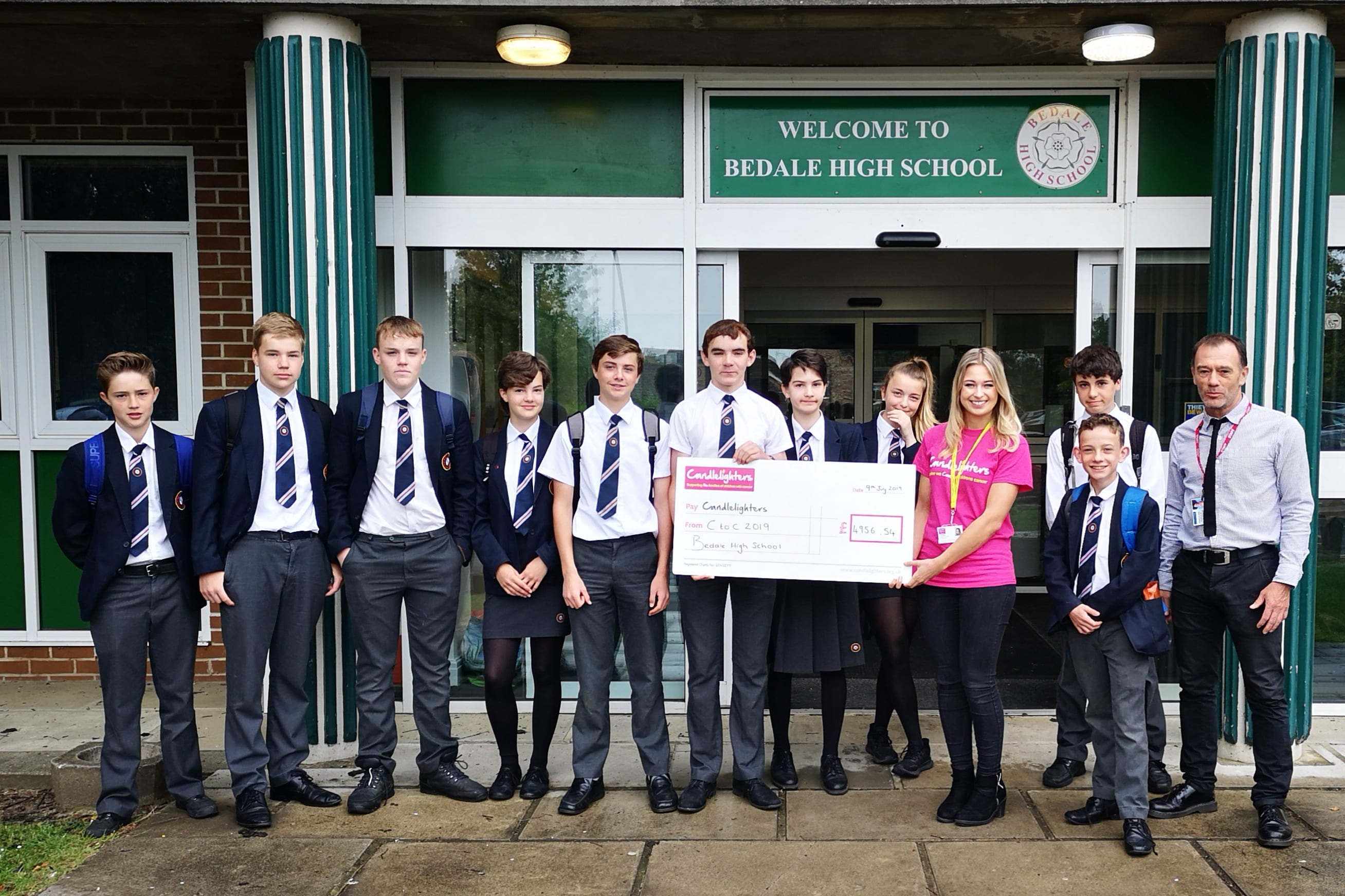Bedale High School Students Take on the Ultimate Coast to Coast Cycle Ride!