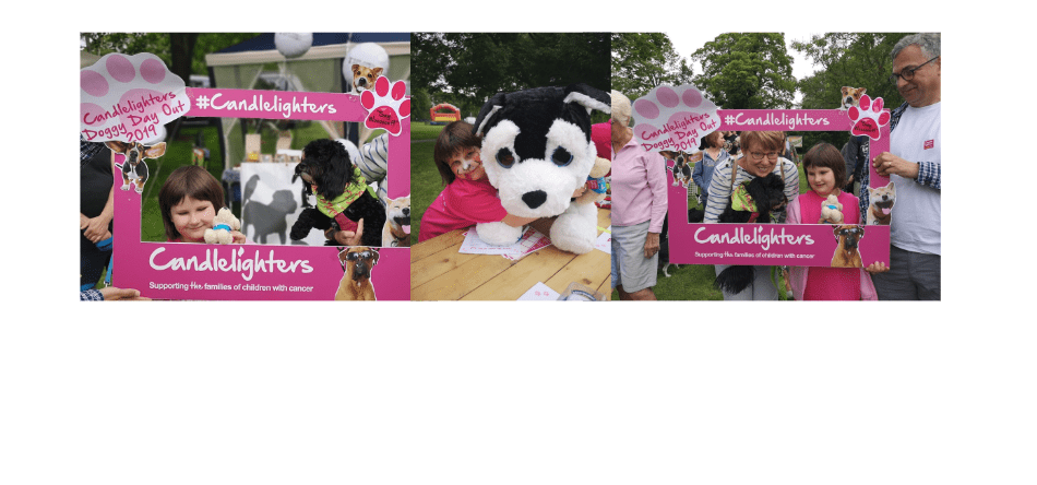 A woofly success for furry friends and human ones too in aid of Candlelighters!