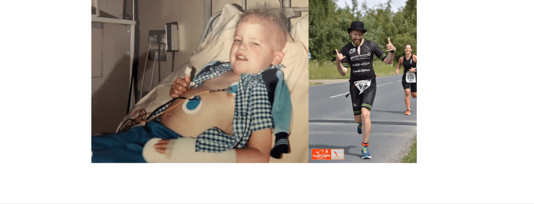 From Acute Lymphoblastic Leukaemia to The Lakesman Ironman, Andrew tells us his story!